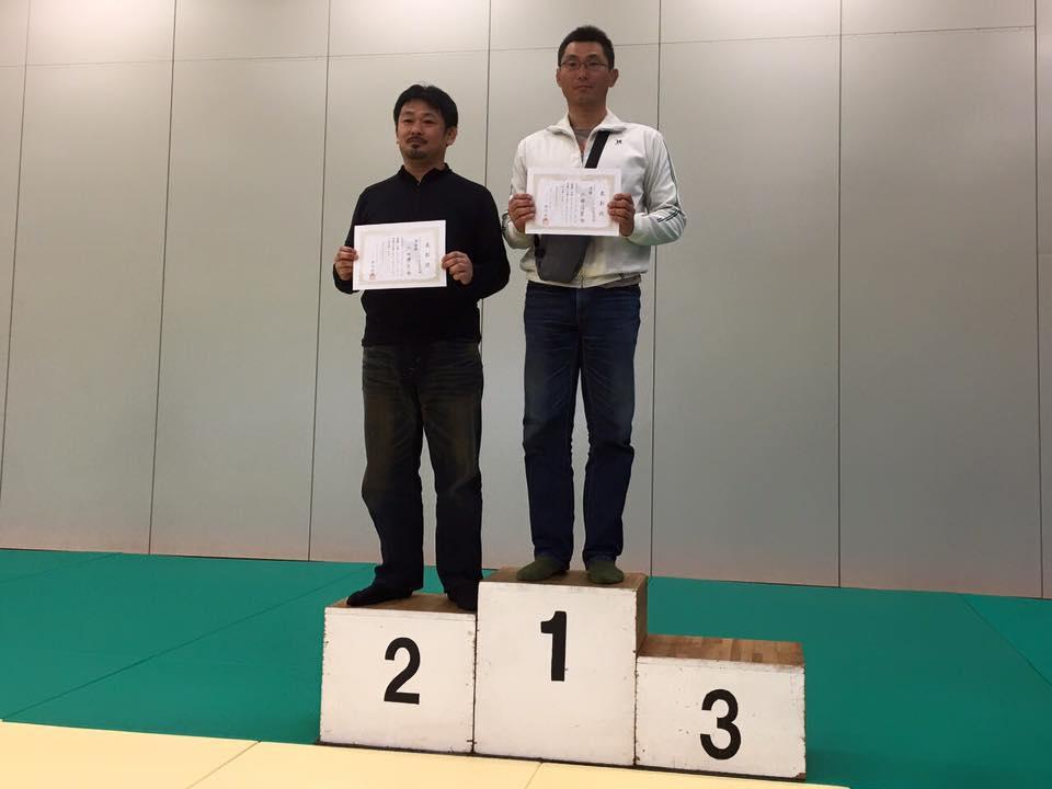佐藤優勝太田準優勝・アルティメットクラス シニア 93kg以下級