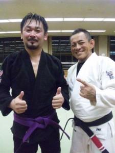 太田さん紫帯昇級