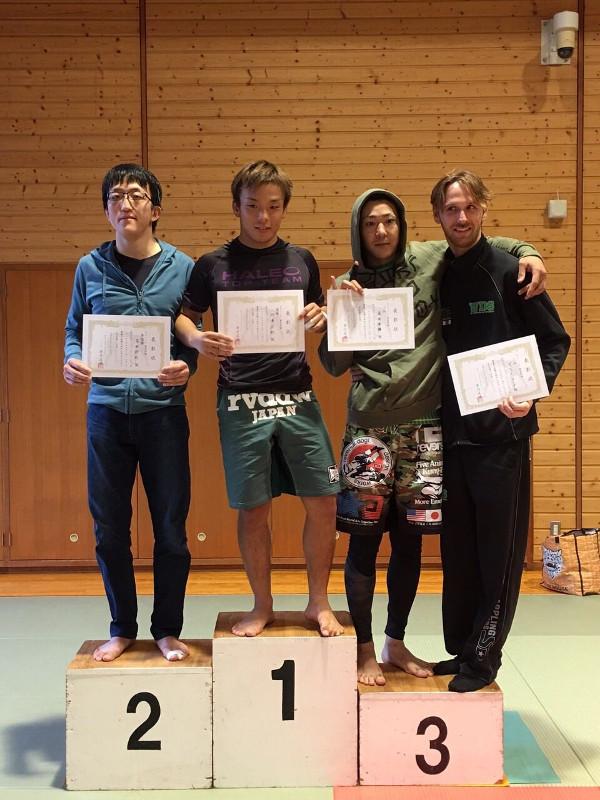 吉田くん準優勝