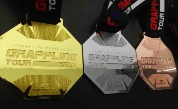 グラップリングツアーメダル