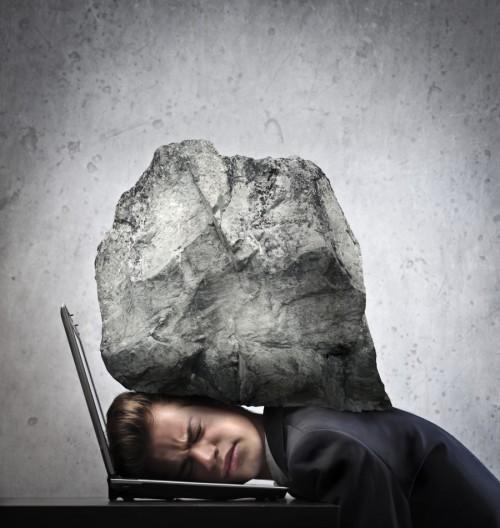 岩とサラリーマン