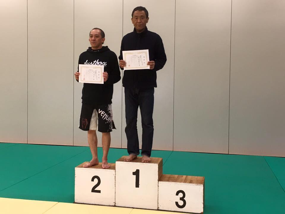 柴田さん優勝・アルティメットクラス シニア 69kg以下級