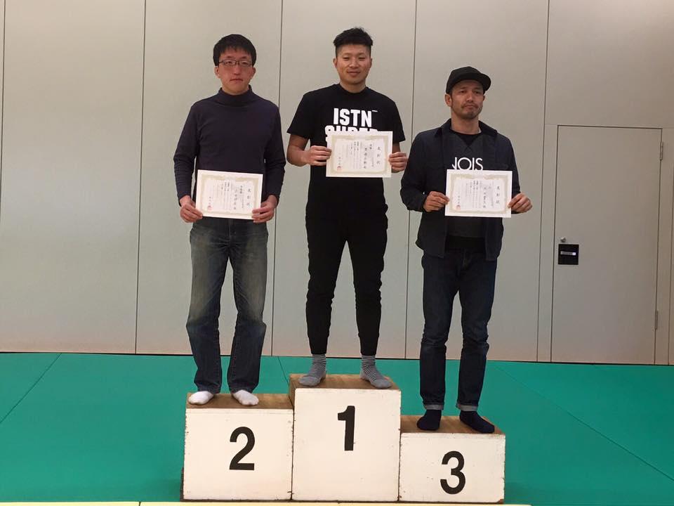 吉田準優勝・アドバンスクラス アダルト 69kg以下級
