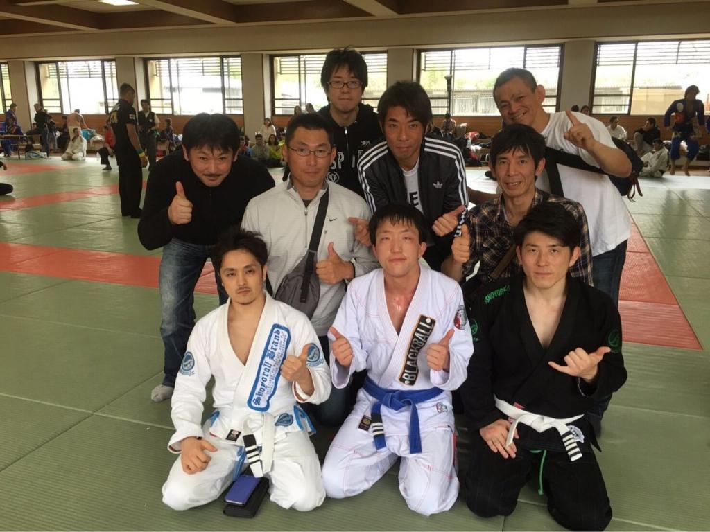 応援ありがとうございました!GIFU OPEN JIU JITSU CHAMPIONSHIP 2016.4.10